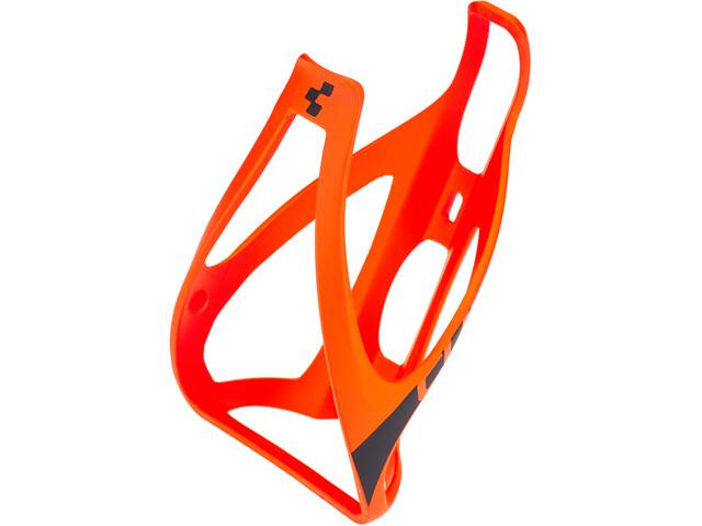 Cube HPP Flaskeholder, matt orange'n'black